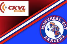 Les Rangers s'associent avec la station CKVL 100, 1 FM