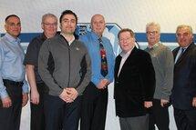 Sur la photo, les bénévoles du comité organisateur de Montréal accompagnés de Davide Foti, président honoraire provincial de FCA, et Rodger Brulotte, président honoraire régional.