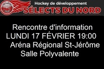 Rencontre d'information Sélects du Nord_ Saison 2020-2021