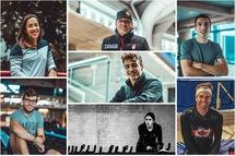 Six patineurs québécois et l'entraîneur Gregor Jelonek représenteront le pays aux premières Coupes du monde longue piste de la saison. — Photos Patinage de vitesse Canada