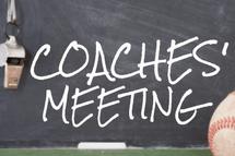 Réunions des entraineurs / Coaches Meeting
