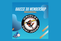 Hausse du membership