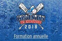 La Convention des entraîneurs, une formation annuelle!