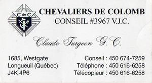 Chevaliers de Colomb