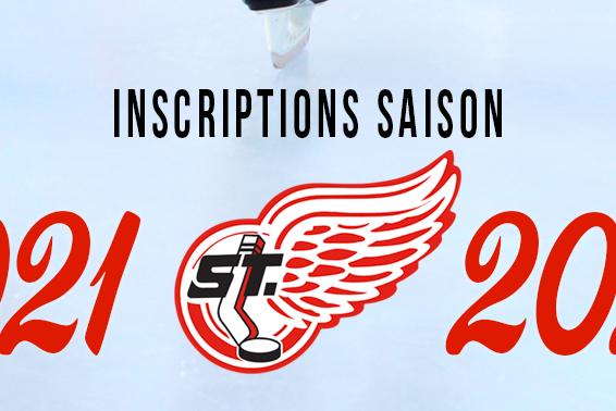 Inscriptions pour la saison 2021-22