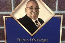 Denis Lévesque intronisé parmi les grands du baseball