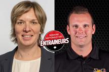 Lancement de la Semaine nationale des entraîneurs avec Isabelle Leclaire et Carl Mallette