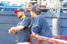 Le directeur général et entraîneur-chef des Diamants Dominik Walsh a été actif lors du récent répêchage de la Ligue de baseball junior élite du Québec.