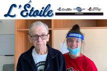L'Étoile du mois Le Trio Hockey - Ariane Proulx, Joueuse Warriors du Lac-St-Louis