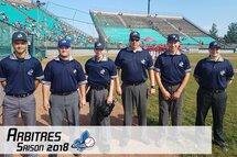 La saison 2018 du comité provincial des arbitres
