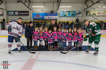 Du hockey féminin à Mercier!