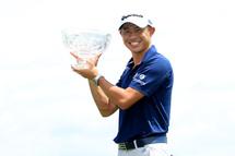 Collin Morikawa, le plus récent vainqueur de l'Omnium Workday. (Getty)