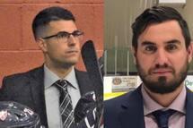 Éric Bouchard, entraineur-chef et directeur général du Collège Français, et Alexandre Montpetit, entraîneur des gardiens, ont été sélectionné par Hockey Québec.