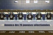 Hockey Québec annonce ses 20 joueuses sélectionnées pour les Jeux du Canada 2019