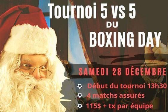 2ème tournoi du Boxing Day au District 5