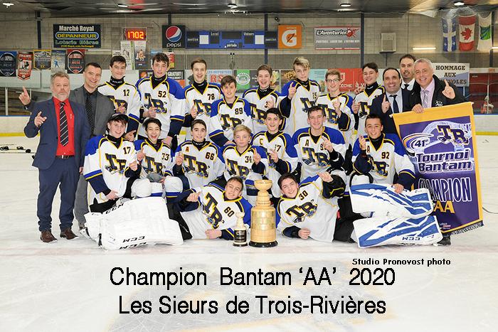 Bienvenue sur le nouveau site Web du Tournoi Bantam de Trois-Rivières!