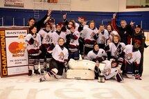 Les Sieurs2 Bantam A champions du tournoi Sud-Ouest Montréal