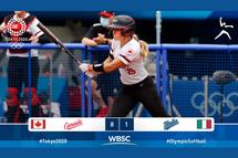 Jour 5 - Dernière journée de la ronde préliminaire du softball aux Jeux Olympiques de Tokyo