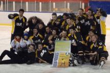 Le Junior B Bombardier Rosemont remporte la finale du tournoi  St-Hubert de Rivière-du-Loup, 5 à 4!!