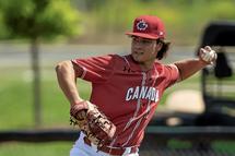 Un Gatinois avec l'équipe canadienne de baseball junior