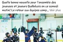 Du nouveau de Hockey Québec