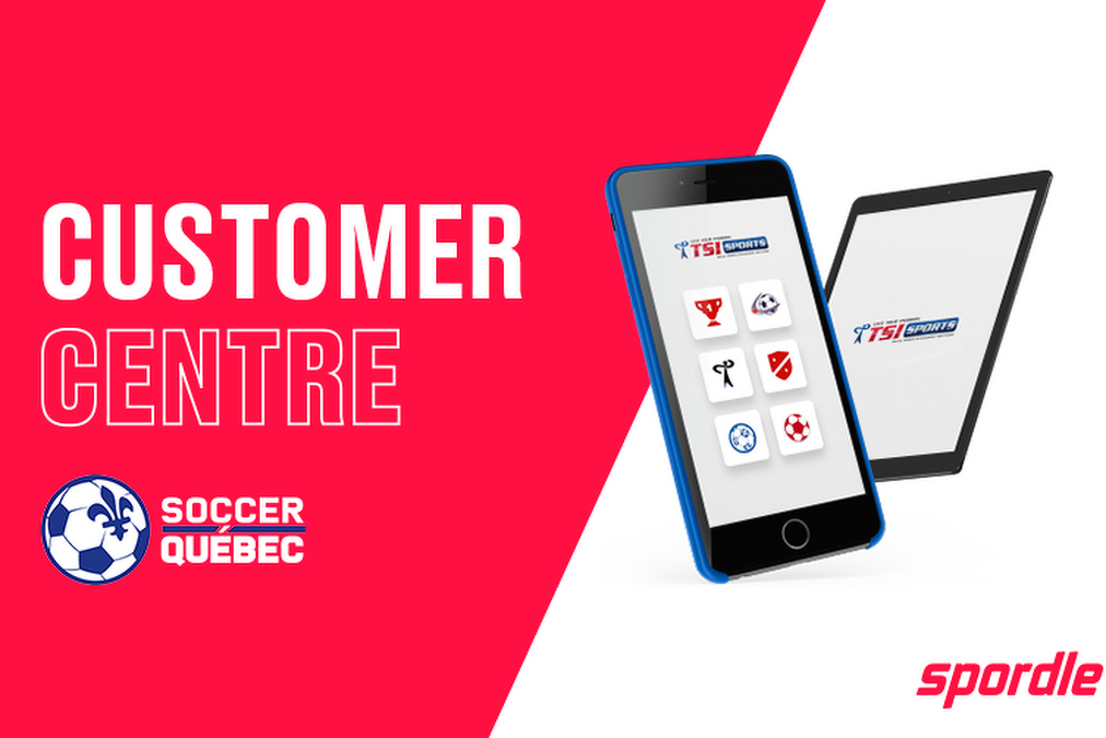 Your Soccer Quebec customer centre is now available