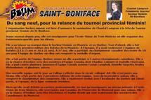 Chantal Lampron...Nouvelle présidente Tournoi Hockey Féminin de St-Boniface!