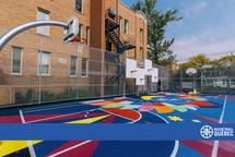 Terrains de basketball - Parc Jean-Marie Lamonde, Montréal
