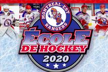 2ième édition de l'École de hockey des Rangers