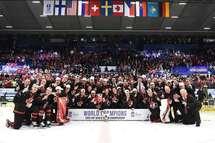 Le Canada remporte l'or au CMJ, Lafrenière nommé Joueur par excellence et Meilleur avant