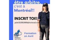 Inscription Arbitre saison 2019