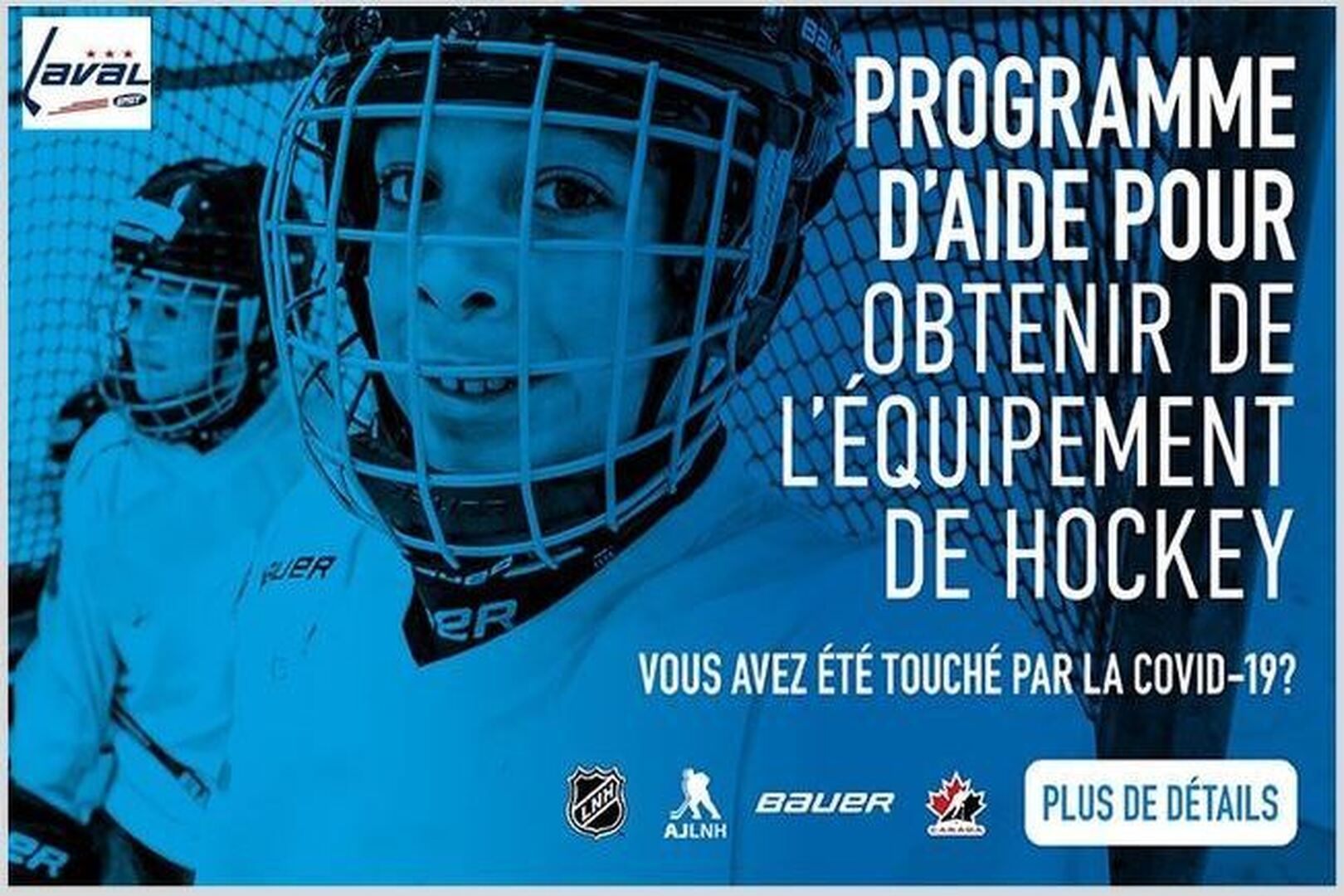 BAUER CANADA, PROGRAMME AIDE
