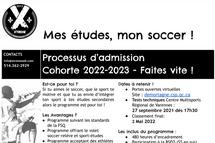 Programme soccer Sport-Études École secondaire De Mortagne