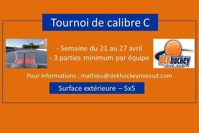 Tournoi de calibre C