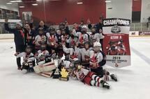 Prédateurs de Laval-Nord Champions de la Coupe Cougar d'Ottawa