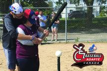 Le baseball adapté a le vent dans les voiles