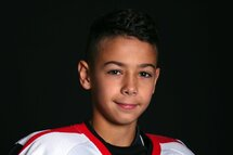 Tommy-Lee Vieira, attaquant des Sélects Pee-Wee AAA Relève