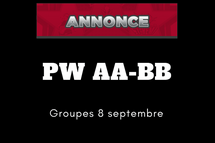 Groupes PW AA-BB