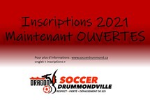 Inscriptions 2021