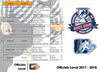 Les nombreux officiels qui seront en provenance de l'île Jésus pour le volet masculin de la Coupe Dodge 2018 en Outaouais