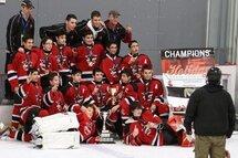 Bantam A Mistral - Champions du Tournoi de Ottawa.
