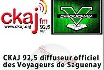 CKAJ 92,5 et Voyageurs Saguenay