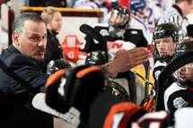 Félix Potvin aura laissé tout un héritage lors de son passage à la barre des Cantonniers de Magog. (Photo : Matthew Murnaghan, Hockey Canada)