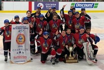 Les Coyotes Pee Wee A Champions!