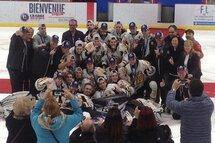 Les Harfangs de Québec champions de la Coupe Dodge 2017, division midget AA