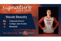 Maude Beaudry - Crédit photo - Courtoisie de l'athlète