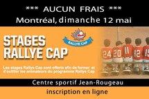 Formation d'animateurs Rallye Cap de Montréal