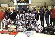 Place au hockey masculin à la Coupe Dodge 2016