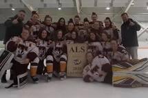 Les Midget AAA Féminin championnes à Cornwall