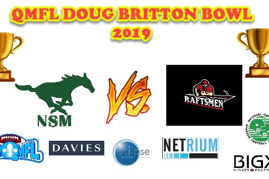 LIVE - QMFL Doug Britton Final 2019 - LIVE